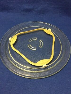 Microwave Glass Plate with ring Whirlpool Kenmore 12 inches 4393799