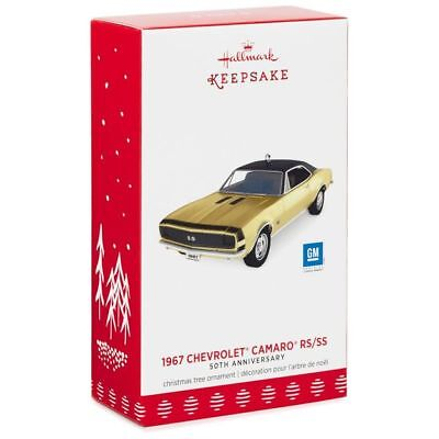 1967 CHEVROLET CAMARO RS/SS~50th Anniversary~GM~Metal~Hallmark Keepsake~2017~MIB