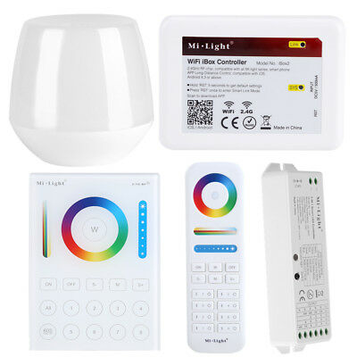 Milight 2.4G Wireless LED WiFi iBox Panel Controller forCCT/RGB/RGBW Strip Light
