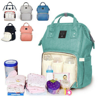 Large Capacity Mummy Bag Baby Diaper Nappy Maternity Changing Travel Backpack