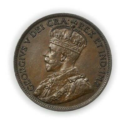 Canada KM#21 1916 Cent, Large High Grade Coin, George V [3525.01]