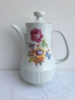 CP German Democratic Republic 058 Floral Tea Pot (109)