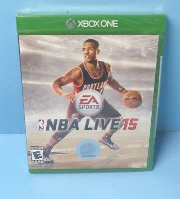 NBA Live 15 (Microsoft Xbox One, 2014) BRAND NEW FACTORY SEALED