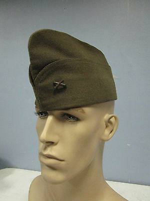 WWI US ARMY AEF 108th FA BAND NAMED FRENCH MADE OVERSEAS HAT