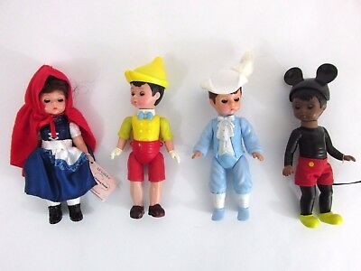 Lot 4 McDonalds Madame Alexander Dolls Disney boy Mickey Mouse Red Riding Hood