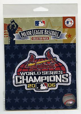 2006 MLB St. Louis Cardinals World Series Champions Patch