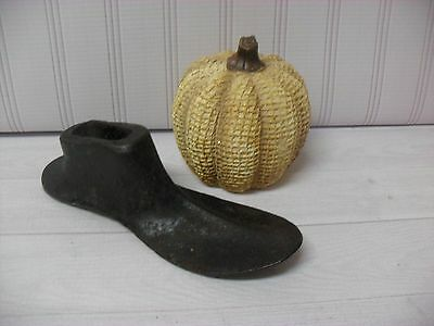 Cast Iron heavy Shoe Form Vintage or Maybe Antique  ~ Cobblers Form Small Child