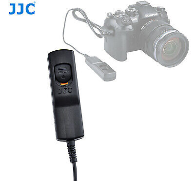 JJC MA-J2 Wired Remote Switch Replace Olympus RM-CB2 for OM-D E-M1 Mark II