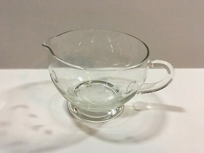 Princess House Heritage Collection Pattern Crystal Creamer Excellent Condition