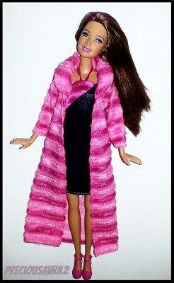 Barbie Doll Clothes 2 Piece Set Dress & Long Coat/Clothes/Outfit/Casual/New