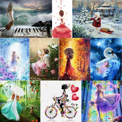 5D Angel Girls DIY Diamond Painting Art Embroidery Cross Stitch Craft Home Decor