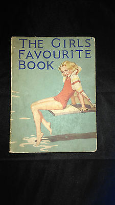 The Girls Favourite Book Vintage Stories Hardback Book