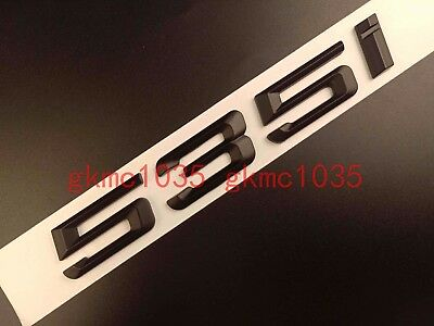 "Gloss Black /"" 128 i /"" Number Trunk Letters Emblem Badge Sticker for BMW 1 Series"