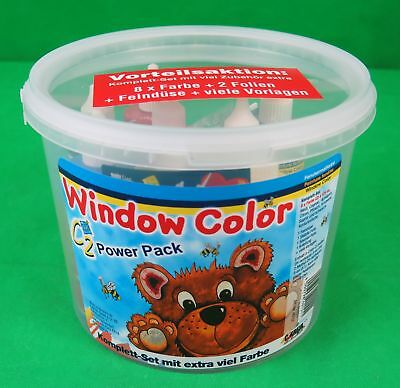 Kreul Window Color Hobby Line C2 Set Power Pack