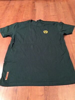 Jagermiester Mens XL Green Short Sleeve Tee Shirt Fast Next Day Free Shipping