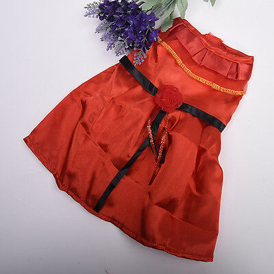 """Fashion Handmade Red Summer Party Dress Doll Clothes fits 18"""" Doll HOT"""