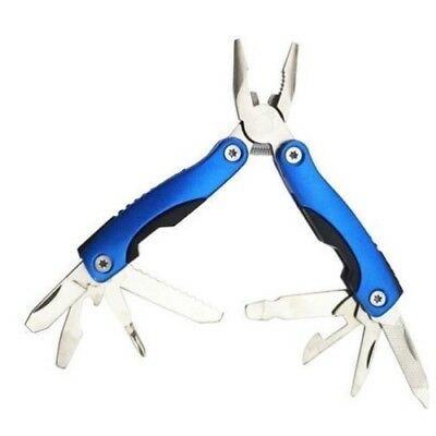 FOLDING POCKET PLIERS SCREWDRIVER MULTI TOOL GADGET 10in1 OUTDOOR CAMPING EDC