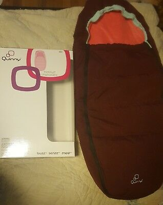 Quinny Footmuff Pink Emily