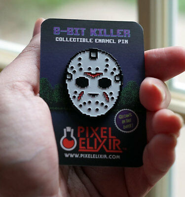 Friday the 13th Jason Voorhees Enamel Pin Not Creepy Co or Cavity Colors