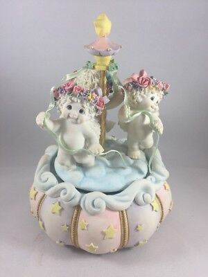 Dreamsicles Music Box The May Pole Plays Carousel Waltz 10614 1998