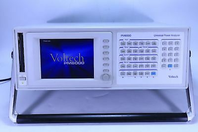 Voltech Pm6000 Universal Power Analyzer 4 Channel 100006700147