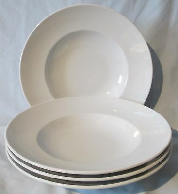 Rosenthal Chef Series White Large Individual Pasta Bowl, Set of 4
