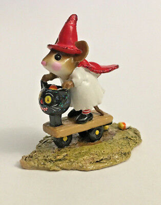 Wee Forest Folk WFF M-296 Scootin with the Loot with Original Box EUC!