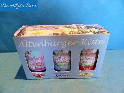 Altenburger-Kiste (23,57€/L) Einhornsenf Flamingosenf hot & Flamingosenf sweet