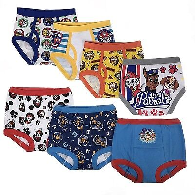 PAW PATROL Toddler Boys' 3pk Training Pants and 4pk Briefs COMBO PACK
