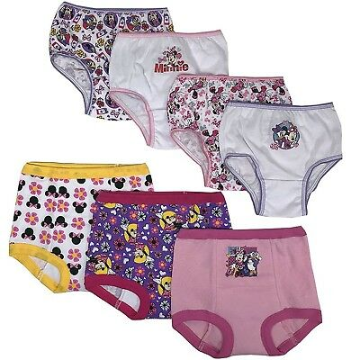 Minnie Mouse Toddler Girls' 3pk Training Pants and 4pk Panties COMBO PACK