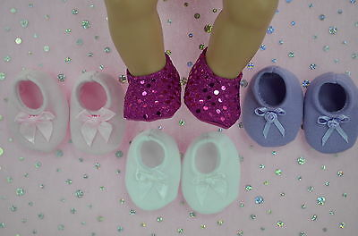 """Play n Wear Doll Clothes For 17"""" Baby Born 4x BOOTIES~HOT PINK~WHITE~LILAC~PINK"""