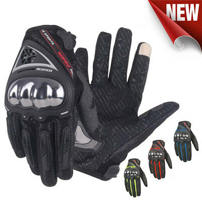 Touch screen Scoyco MC44 Motorcycle Street Gloves, Motorbike Summer Gloves