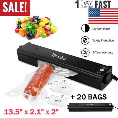 Portable Automatic Vacuum Sealer System Foodsaver Machine Fresh System Ymiko