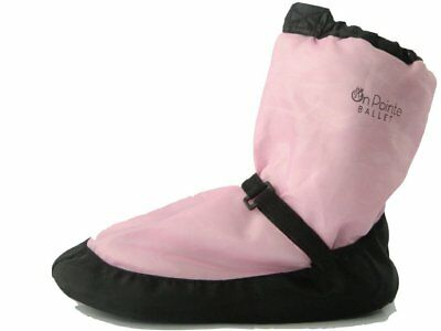 ballet warm up boots pink women's up to size Small up to Size 5