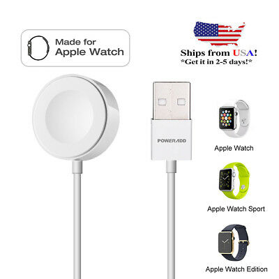 For Apple Watch Edition iWatch 38mm & 42mm Magnetic Charger Charging Cable (2M)