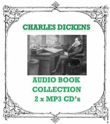 Charles Dickens Audio Book Collection Dramatised 2 x MP3 CD 60 Hrs talking books