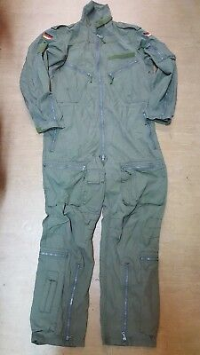 Original Olive Green German Air Force Flight Pilot Suit Overalls GR14