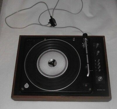 B&O Bang & Ofusen Beogram 1500 Record Player Turntable Amp Working with Faults.