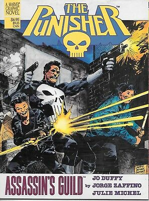 The Punisher: Assassin's Guild (1988 graphic novel; vf 8.0) 64 colour pages