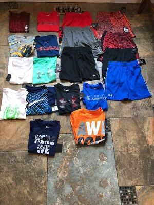 Nice Lot Of New Boys Athletic Clothes(under Armour/Nike)-size 6