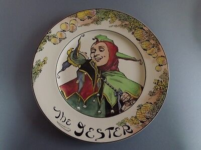 Royal Doulton The Professional Series Plate - The Jester (74,216)