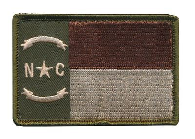 Tactical North Carolina Tactical State Flag Embroidered Patch