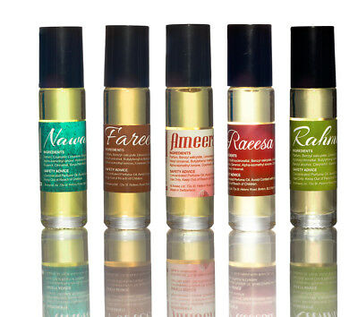 Perfume oil Special offer - Any 5 x 10ml perfumes for women by Al Aneeq £14.99