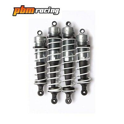 RC 1/8th Rallycross Buggy Aluminium Big Bore Shock Absorber Set Of 4 Shocks
