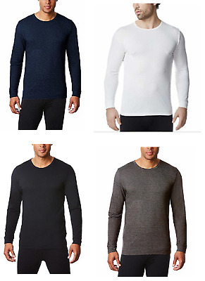 32 Degrees Heat Men's Performance Mesh Long Sleeve Crew Neck Shirt