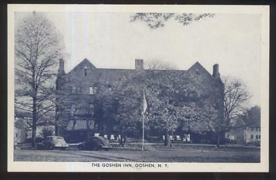 Postcard Goshen New York Ny Local Area Tourist Inn Hotel 1940 S
