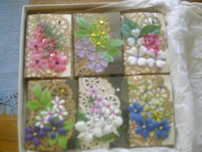 Vintage Handcrafted soap - Vintage Tapestry Box/Book 6 different styles crafts