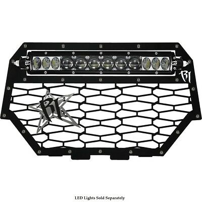 Rigid Grill Polaris RZR XP 1000 2014-2016 Black