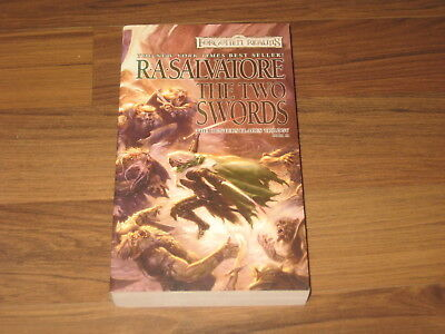 D&D Forgotten Realms The Two Swords The Hunter's Blades Trilogy Book 3 WotC New