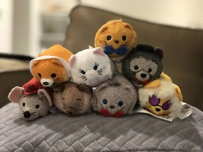 Aristocats Tsum Tsum Disney Store Complete Set Of 8 With Tags